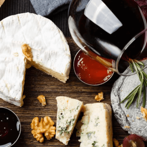Winter Cheese and Wine