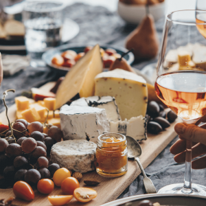Spring Cheese and Wine