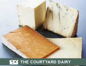 Courtyard Dairy Artisan Cheese Selection