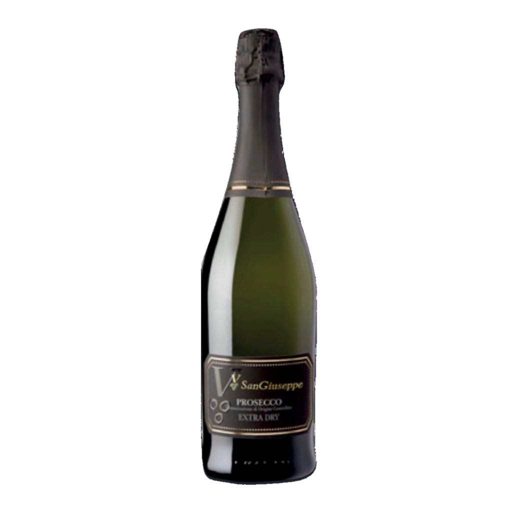 Prosecco wine - Recommended to pair with sea food.